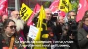 """Suicides à France Télécom : l'émotion au premier jour d'un procès """"inédit"""" - AFP News"""