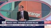 Procès Tapie - Interview de Sébastien Crozier - BFM Business 10 juillet 2019